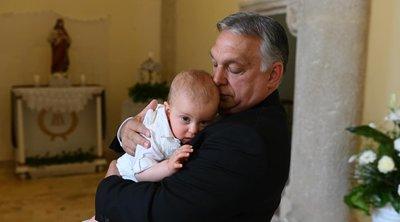 Megkeresztelték Orbán Viktor unokáját - Fotó