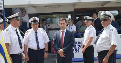 Megnyitották a 175. hajózási szezont a Balatonnál