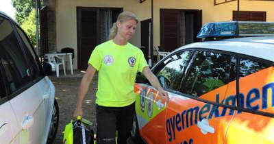 Új kocsival indulhat a gyermekmentés a Balatonnál