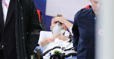 Eriksen összeesett – újra kellett éleszteni, stabilizálták az állapotát