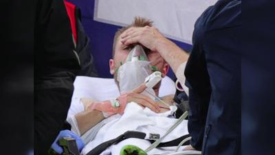 Stabil  a dán focista, Eriksen állapota