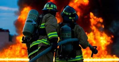 Nagy területen pusztít a tűz Madocsánál