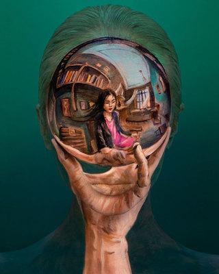 Felrobban az agyad: optikai illúziókat csinál magából a koreai művész