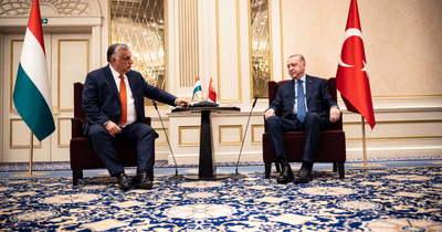 Orbán Viktor Erdogannal találkozott Brüsszelben