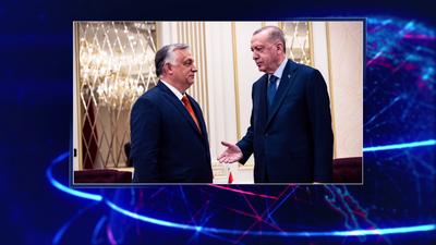 Recep Tayyip Erdogan török elnökkel tárgyalt Orbán Viktor
