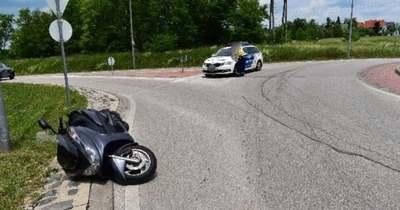 Motorbaleset Hévízen: egy 14 éves fiú súlyos sérülést szenvedett