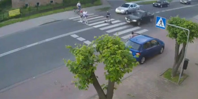 Megállt a sor a zebránál, elindult a kisfiú, ami ezután történt, azért évekig börtönben fog ülni az autós - videó