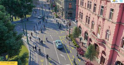 Június 21-én kezdődik az Oskola utca felújítása, látványterveket is mutatunk – Galéria