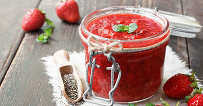 Ez a legjobb recept: főzzünk eperlekvárt cukor nélkül!