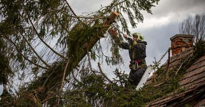 Nógrád megyében is adott munkát a tűzoltóknak a vihar