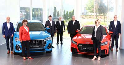 Épül az Audi Hungaria új elektromotorgeneráció gyártósora Győrben