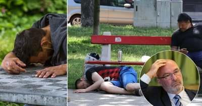 """Áradnak a panaszok a """"Nyóckerből"""": drogtanya és hajléktalantábor lett a kerület – brutális helyszíni fotók!"""
