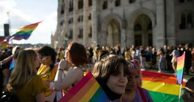 A szivárványkoalíció az LMBTQ-lobbi védelmére kelt