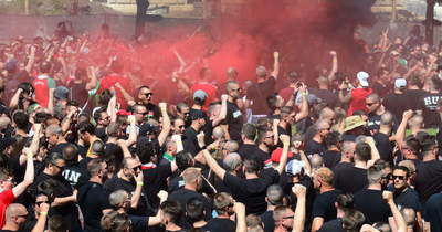 Hidegrázós gesztus a magyar szurkolóktól, Christian Eriksen nevét skandálva vonul a tömeg – Videó!