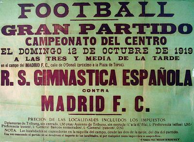 Plakátok a Real Madrid történelméből