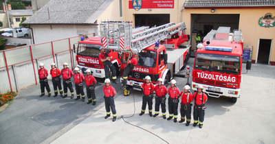 Eredményes évet zártak a celli tűzoltók