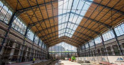 Megnéztük, hol tart a Nyugati pályaudvar felújítása – Fotók!