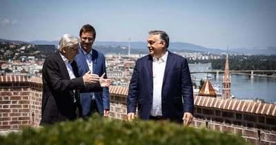 Orbán Viktor egy régi baráttal találkozott Budapesten - Fotó