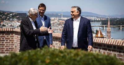 Wolfgang Schüssellel tárgyalt Budapesten Orbán Viktor