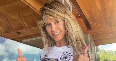 HIába szurkolt csupasz cicikkel Heidi Klum, a németek nem nyertek - Fotó