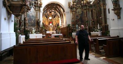 Bazilikai rangot kap az andocsi templom