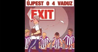 Az Újpest nemzetközi kupatörténetének legsötétebb napja
