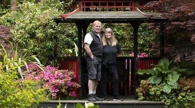 Megálmodták, megcsinálták: varázslatot japánkertet varázsolt 20 év alatt a hátsókertbe ez a brit házaspár - Fotók