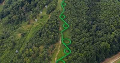 A világ leghosszabb csúszdáját tervezik megépíteni a Bakony szívében – mutatjuk a látványtervet