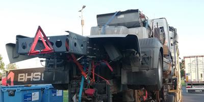 Elképesztő járműszörnyet fogtak az M0-son, több milliós bírságot szabtak ki miatta