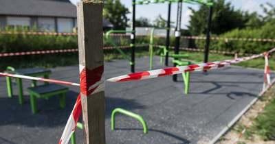 Átadták, átvették, majd bezárták a zámolyi sportparkot