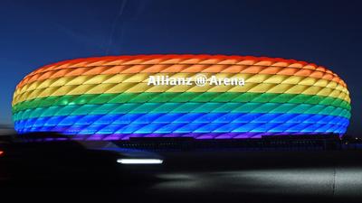 Petíció indult, hogy szivárványszínű legyen a müncheni stadion a német-magyar meccsen