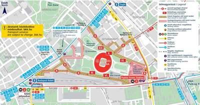 Eb és lezárások: ilyen lesz Budapest közlekedése szombaton