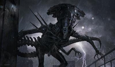 Ilyen lett volna az Alien 5 Sigourney Weaver főszereplésével - képek