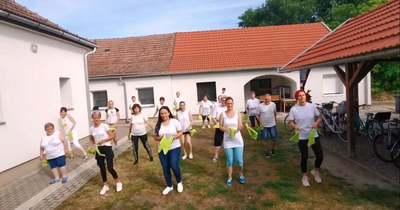 A Magyarbánhegyesi Humán Szolgáltató Központ is elfogadta a kihívást