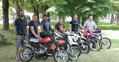 Kanizsaiak is részt vesznek az Offroad Mopedrally versenyen