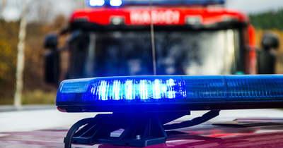 Két személyautó karambolozott a 32-es főúton