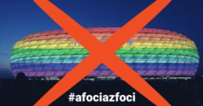 A foci az foci: ne legyen szivárványszínű az Allianz Aréna
