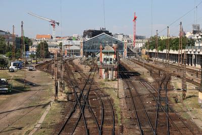 Mától egy hónapig szünetel a forgalom a Nyugati pályaudvaron