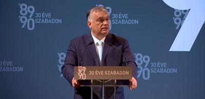 Orbán Viktor: Mi vagyunk Európa utolsó szabadságharcosai