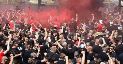 Óriási a hangulat! Már készülnek a magyar szurkolók a franciák elleni összecsapásra