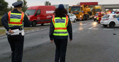 Még a sokat látott rendőrök is ledöbbentek amikor ezt meglátták az autópályán