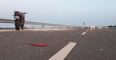 Halálos motorbaleset történt a 67-es úton