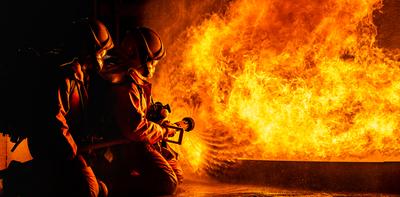 Óriási tűz pusztított Lengyelországban, több tucat épület leégett