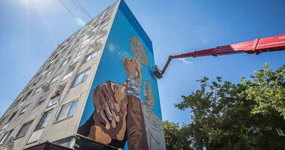 WestpremeMural: Elképesztő falfestmény készül a Haszkovón!