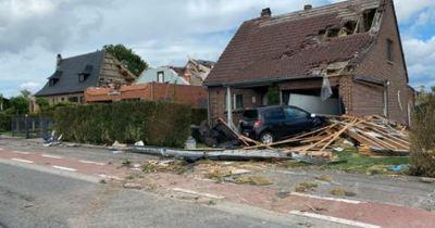 Tornádó pusztított Belgiumban, sok a sérült