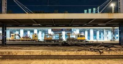 Megkezdődött a Nyugati pályaudvar felújítása