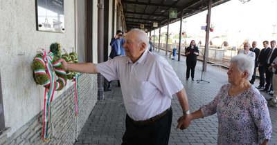 A hortobágyi kényszermunkatáborokba elhurcoltakra emlékeztek Nagykanizsán