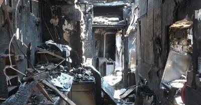 Percek alatt égett rommá a négytagú ácsi család otthona (helyszni videó)