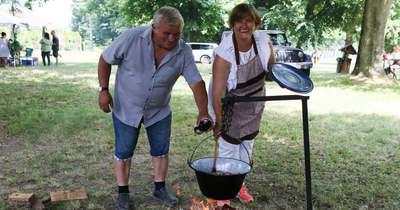 Nyert a gombás, pacalos pörkölt a nagyrécsei főzőversenyen