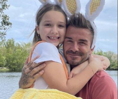 Ilyen cuki ajándékkal lepte meg David Beckhamet a lánya apák napján